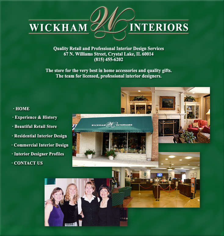 Wickham Interiors ASID | Licensed Interior Designers Crystal Lake IL | Interior  Decorators Crystal Lake IL | Interior Design McHenry County | Interior ...